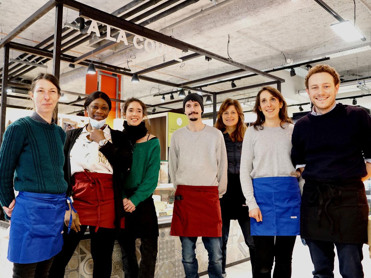 Biocoop Gambetta, magasin bio à Paris : l'équipe