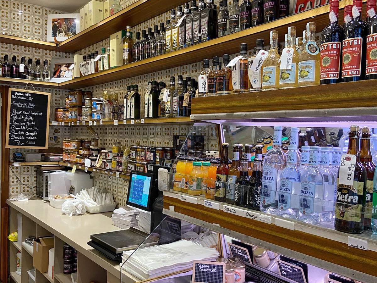 U Spuntinu, traiteur corse à Paris : épicerie