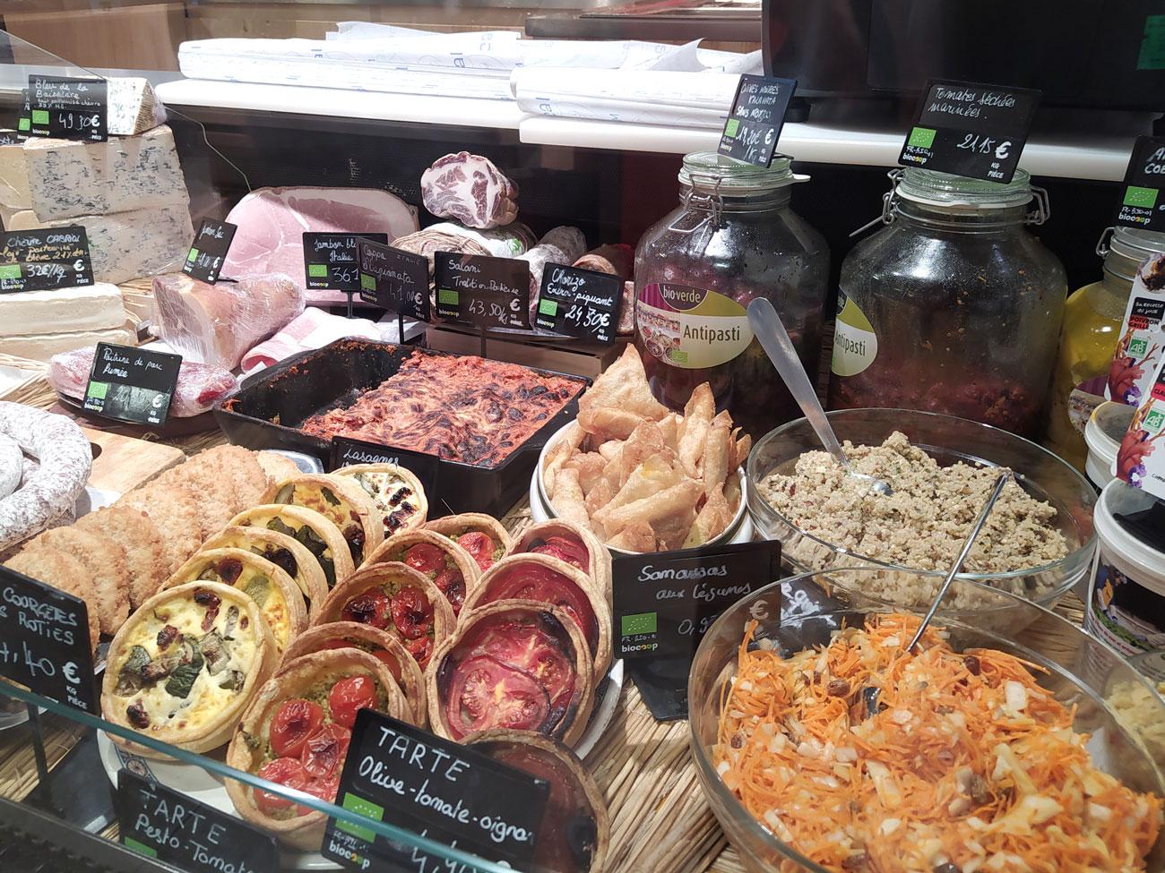 Biocoop Gambetta, magasin bio à Paris : traiteur