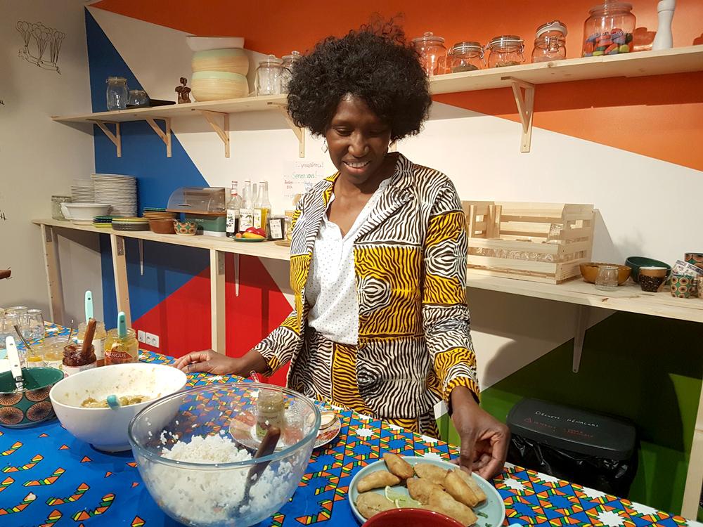 Boolofood, cuisine sénégalaise à Paris : Codoue, cuisinière
