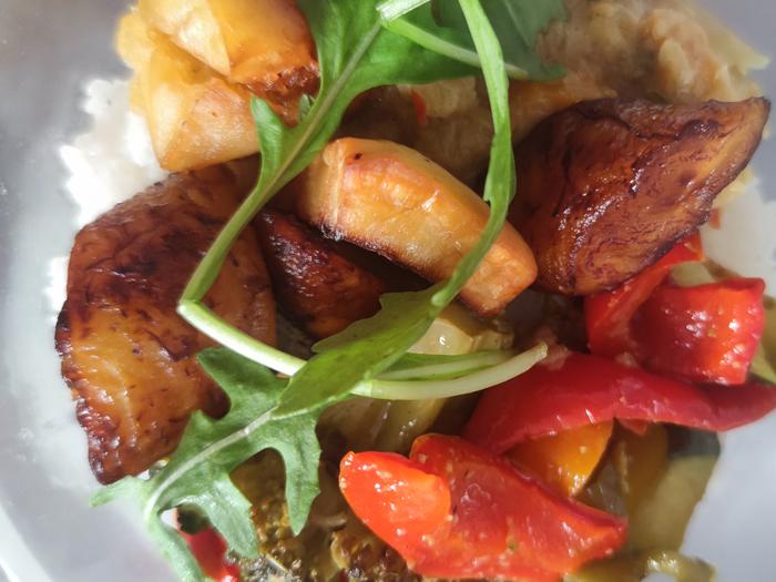 Boolofood, cuisine sénégalaise à Paris : yassa végétarien