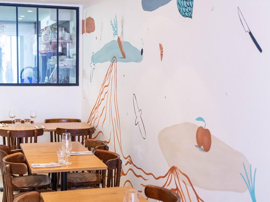 Terre, restaurant à Paris 11e : salle
