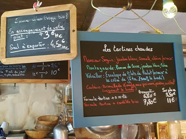 Couleur Canal, restaurant du Canal Saint-Martin : cartes