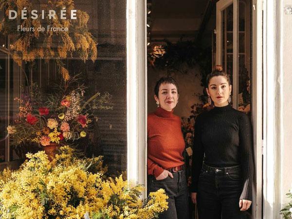 Désirée Fleurs, café-fleuriste à Paris 19e : Audrey et Mathilde